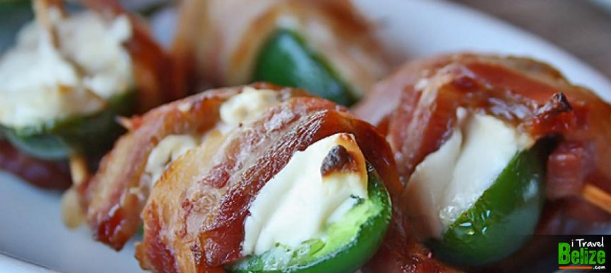 Bacon Wrapped Stuffed Jalapeños at Black Orchid Restaurant