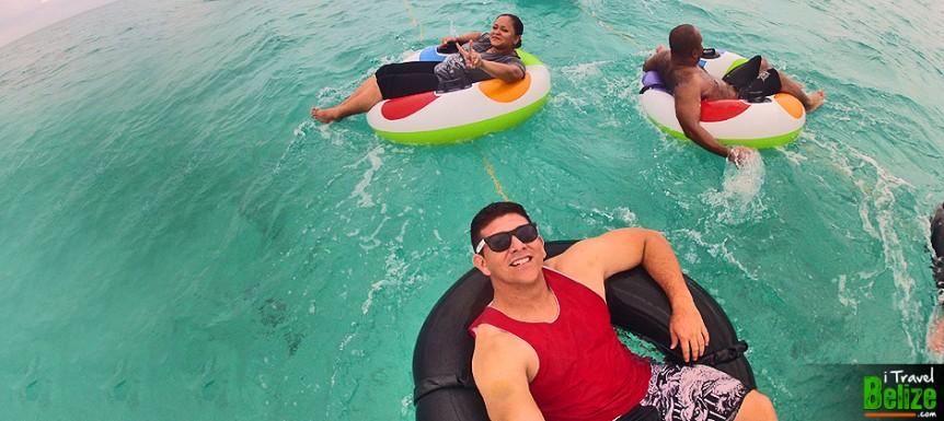 Funtastic Island Tubing Tour at Caye Caulker, Belize