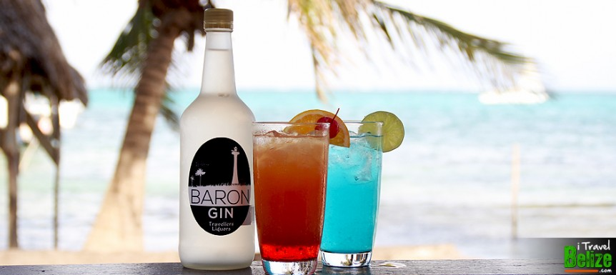 Mix Delicious Cocktails with Belize's Baron Gin, New to Travellers Liqours