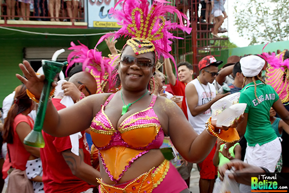 Belize Carnival Road Show Makes Strong Presence in Orange Walk Town