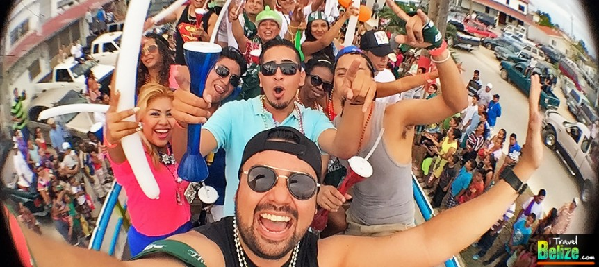Mardi Gras Party Bus Ignites Carnival Celebrations in Corozal Town