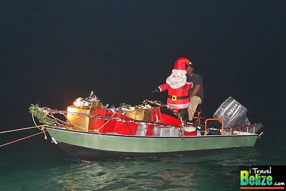 Ambergris Caye Boasts Unique Holiday Boat Parade