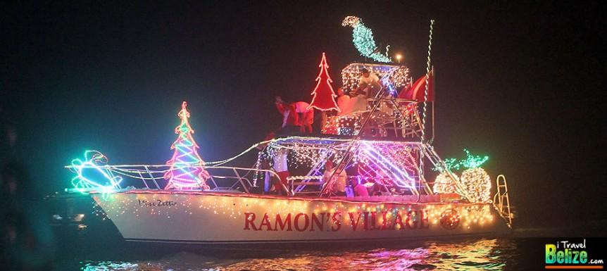 San Pedro Holiday Boat Parad