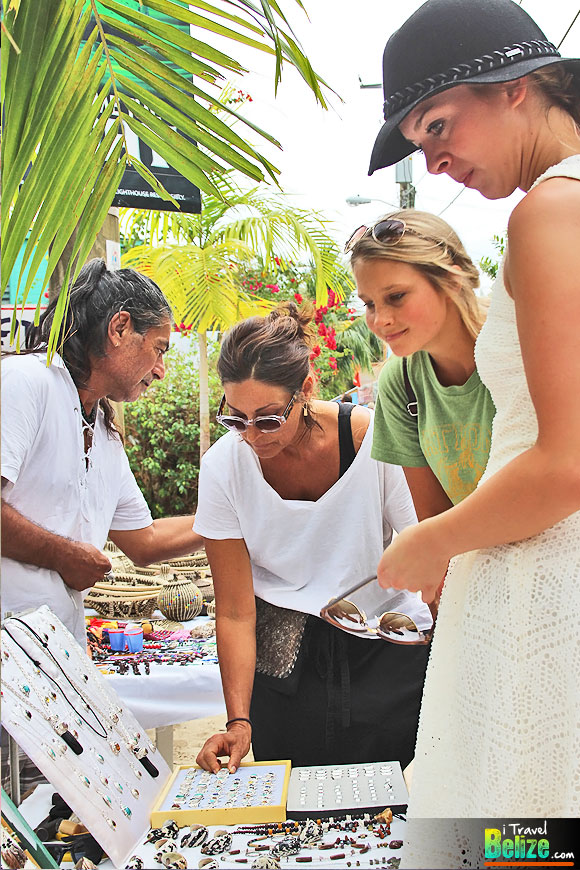 Art Festival Along Placencia's Historical Sidewalk