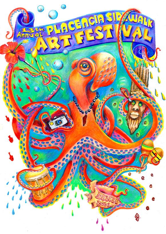 Sidewalk-Art-Festival-Placencia-32