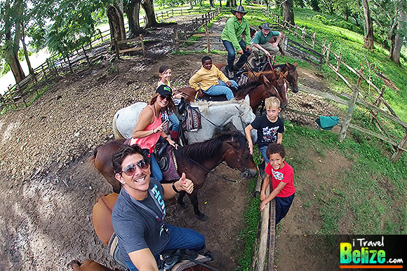 Plenty of Horsing Around at Banana Bank Lodge Summer Camp