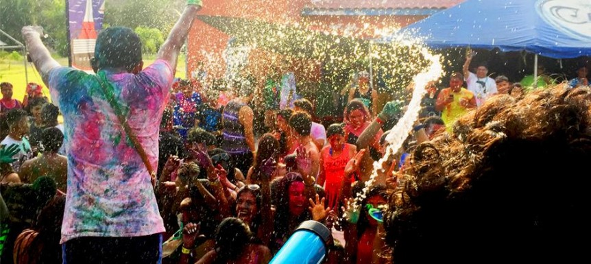 Celebrating Summer with Colors Beach Festival in Corozal