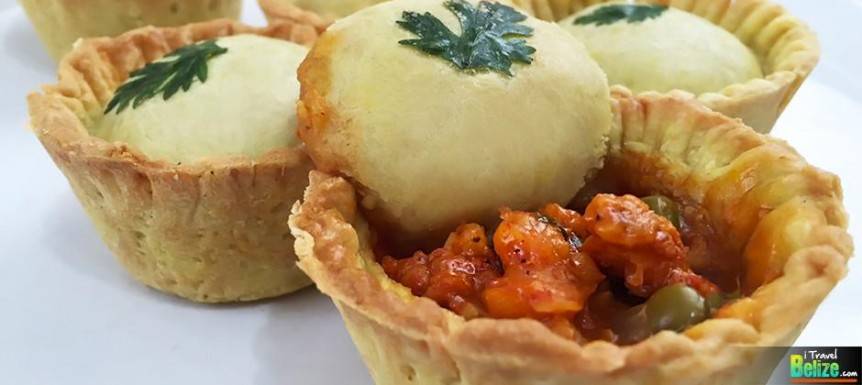 The Belizean Meat Pie Reinvented with Lobster