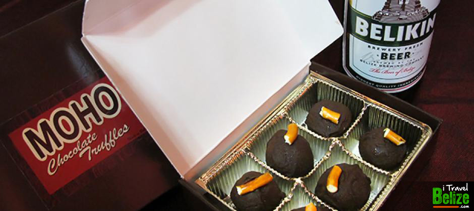 Moho Chocolate Company Makes Belikin Beer Truffles