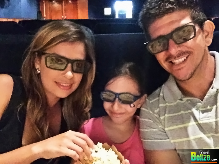 Movie Theater Goes HD and 3D at Ramada Belize City Princess