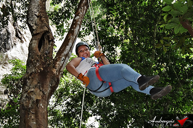Conquer Your Fears at Belize's Black Hole Drop