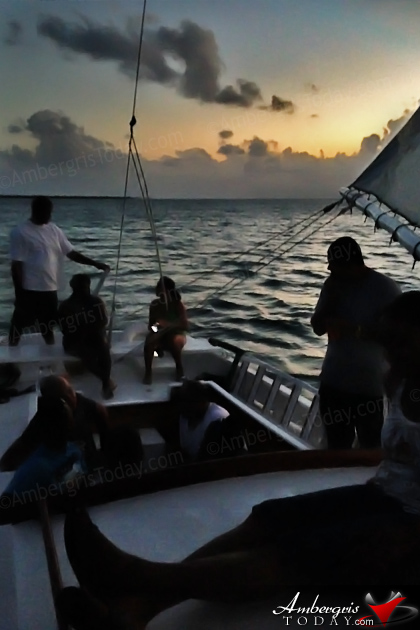 Sit Back and Enjoy a Sunset Sailing Cruise in Belize