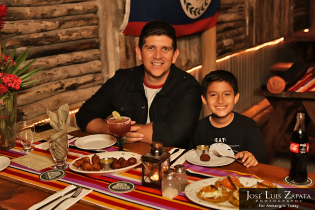 Enjoy A Family Style Dinner at El Fogon Restaurant Belize Food