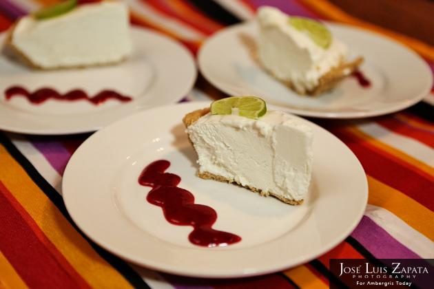 Frozen Key Lime Pie - Belize Food