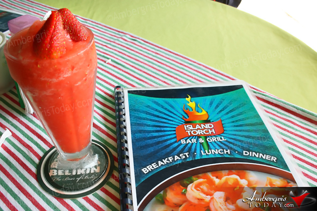 Island Torch Bar & Grill Promises Hearty and Local Dishes Belize Breakfast