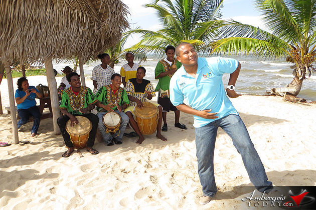 Dance to the Beat of the Garifuna Drums at Lebeha Drumming Center, Hopkins Village