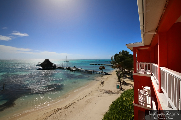 Perfect View of Paradise at Mayan Princess Hotel