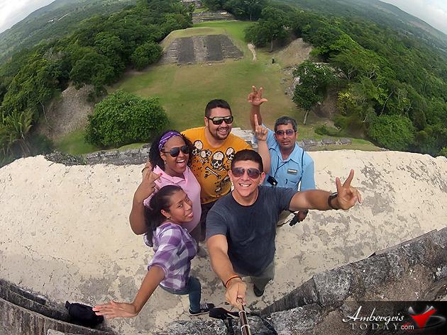 Radisson Fort George Hotel and Marina can arrange inland tours like visiting Xunantunich Maya Site