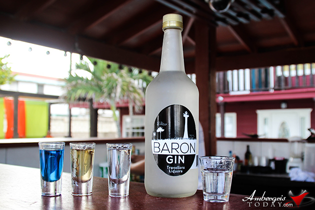 Mix Delicious Cocktails with Belize's Baron Gin, New to Travellers Liquors
