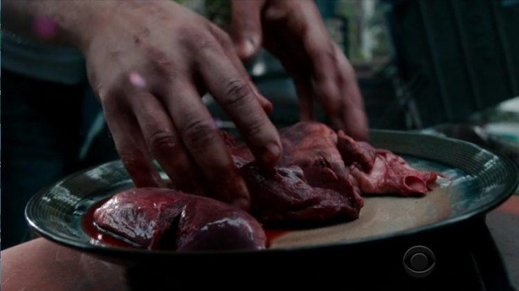 Heart steak