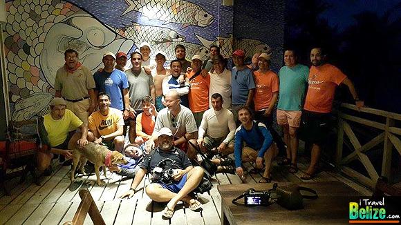 Mexico Dive Club Enjoys Belizean Waters