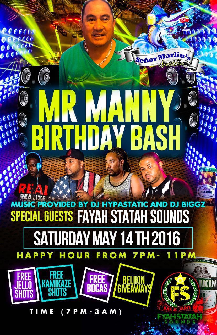 Mr. Manny's Birthday