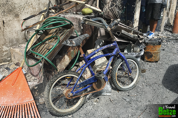 San Pedro, Recovered items from fire