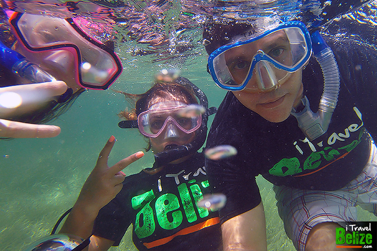 Snorkeling the Belize Barrier Reef