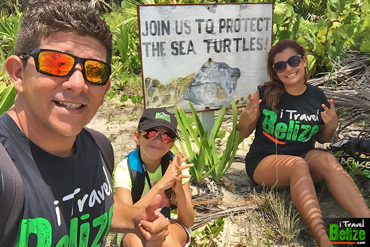 Basil Jones is a prime sea turtle nesting area that is kept under surveillance by the staff of the Hol Chan Marine Reserve. Nesting season falls between May and September