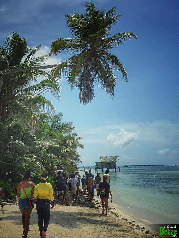 Beach exploration with the camp kids; looking for sea turtle nests and learning about the island's ecosystem
