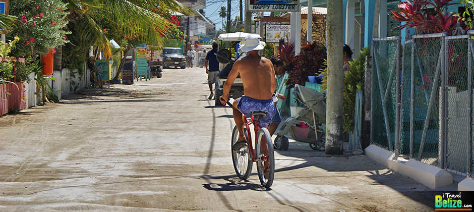 Travel Belize Caye Caulker Get Around