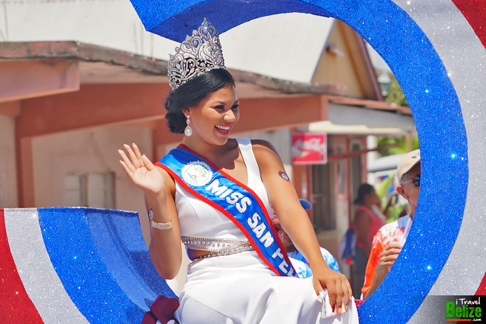 belize Independence day parade san pedro