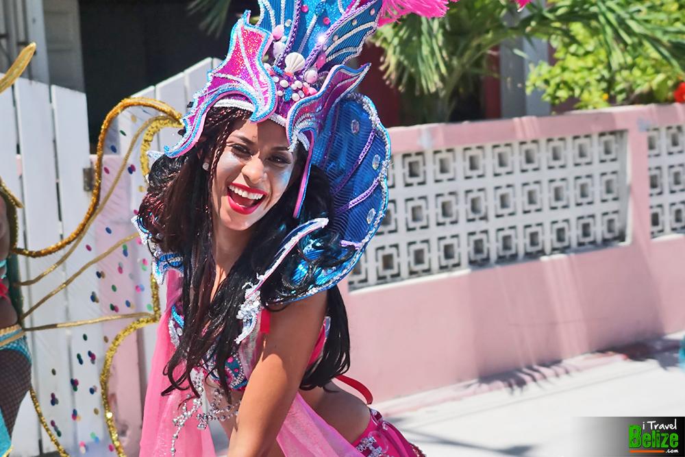 belize Independence day parade san pedro