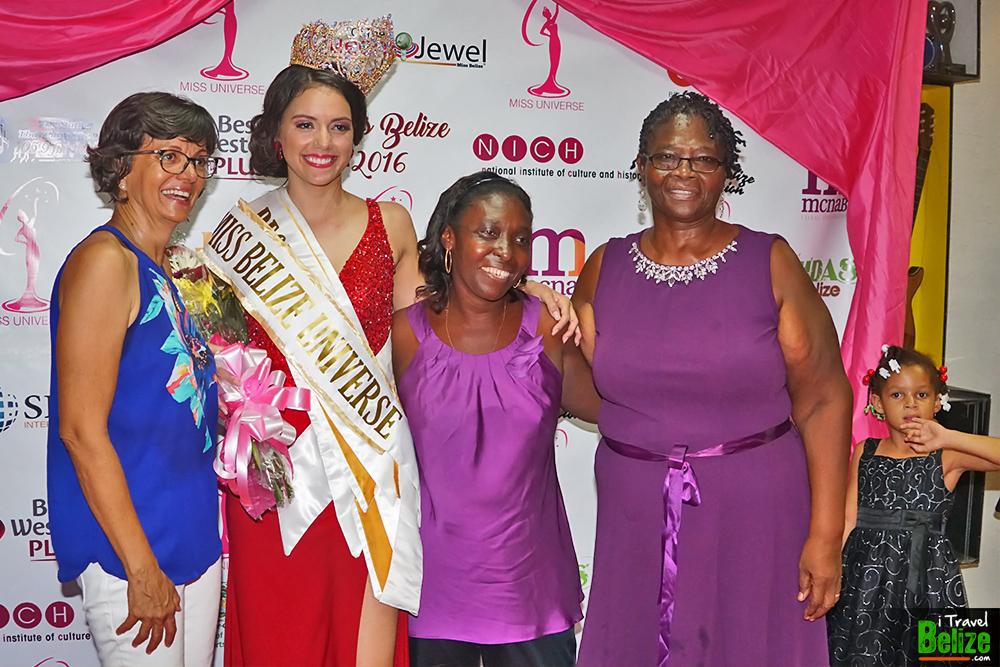 Rebecca Rath, Miss Belize Universe 2016