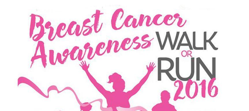 Breast cancer walk october