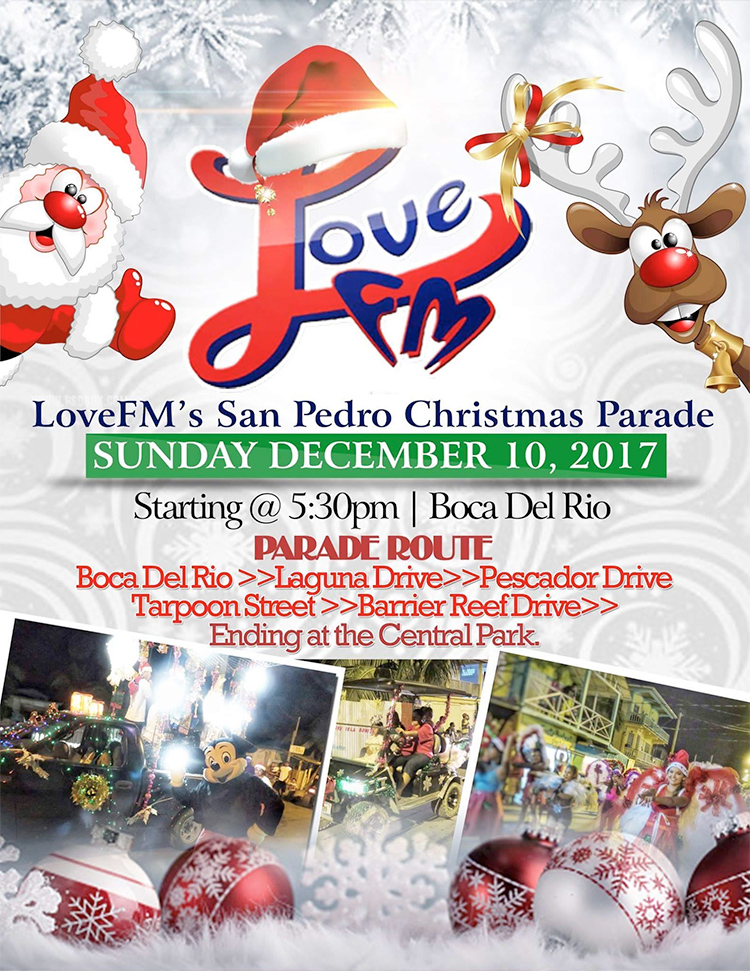 Love FM Christmas Parade