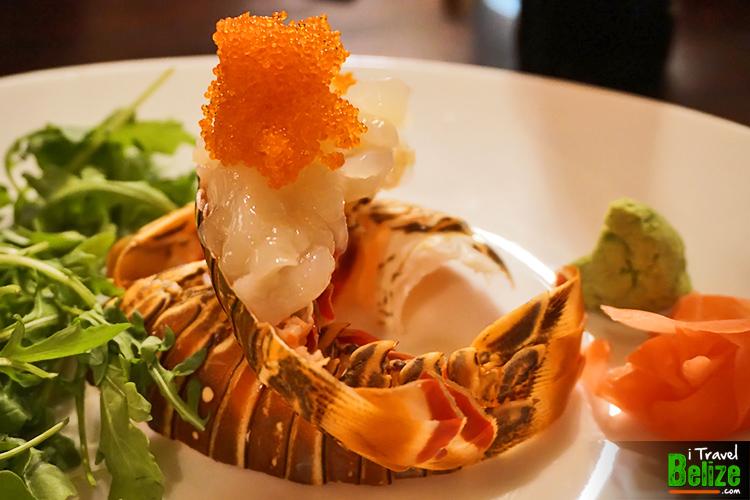 Lobster sashimi - sushi