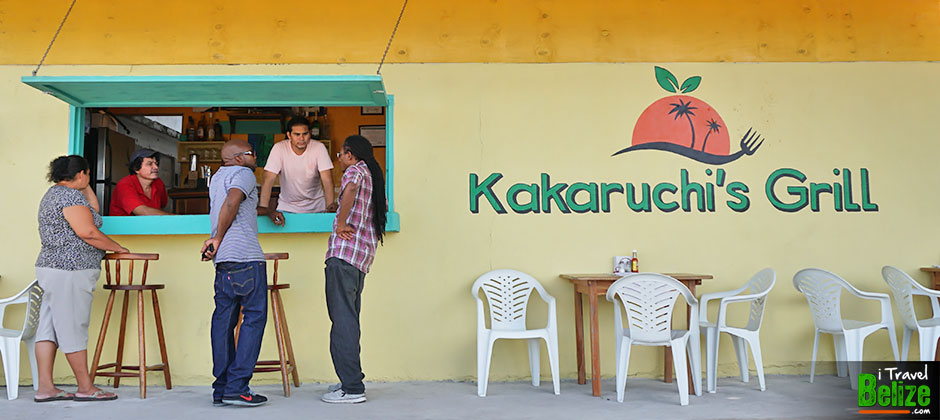 It's All in the Name, Eat at Kakaruchi's Grill, San Pedro, Ambegris Caye