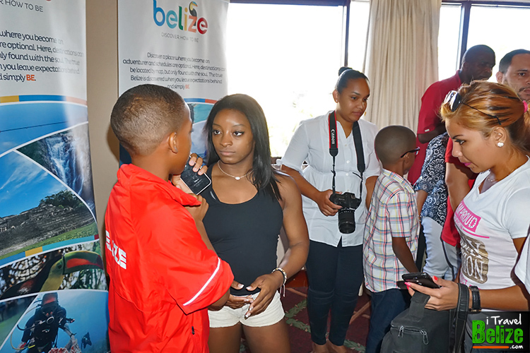 Simone Biles Calls Belize Her Second Home