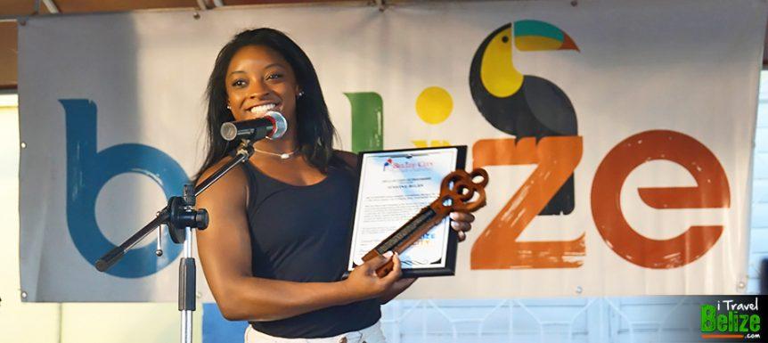 Simone Biles Calls Belize Her Second Home