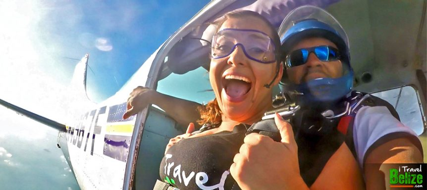 Amber's Skydive