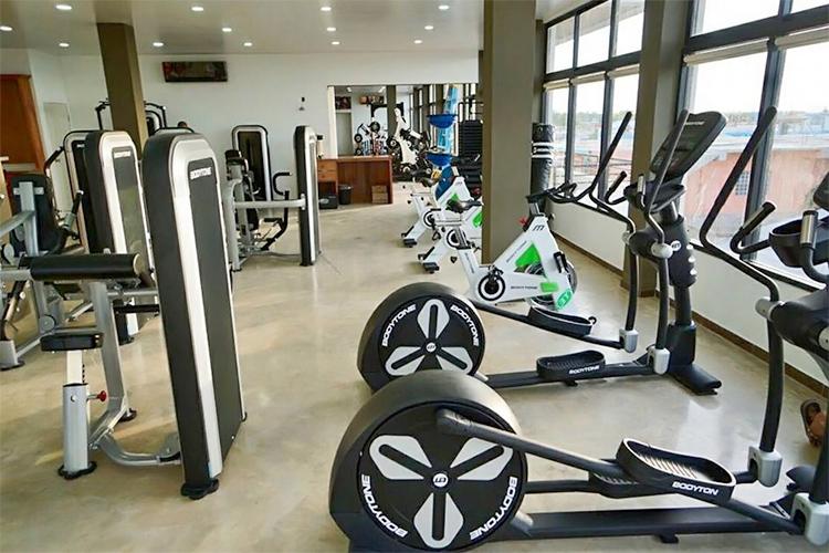 belze fitness gym san cas plaza san pedro ambergris caye
