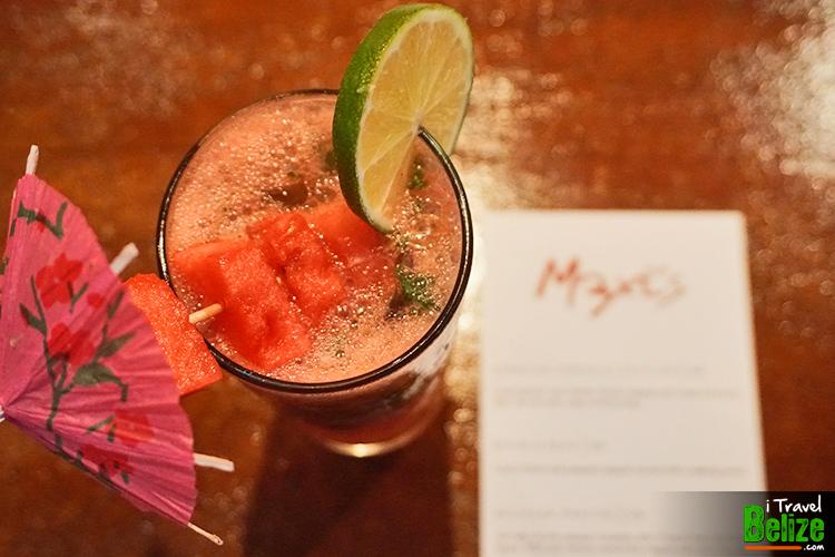 Watermelon Mojito at Maxi's