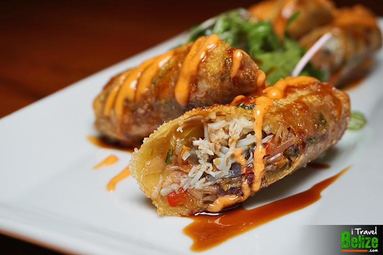 Asian Crab Wrap