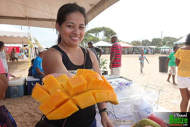 Eating as many Mangos as I Could at Hopkins Mango Fest
