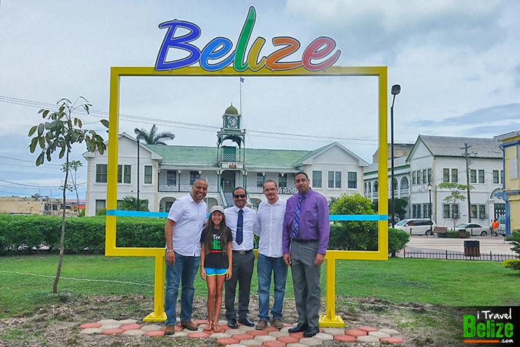 Belize Sign Battlefield Park