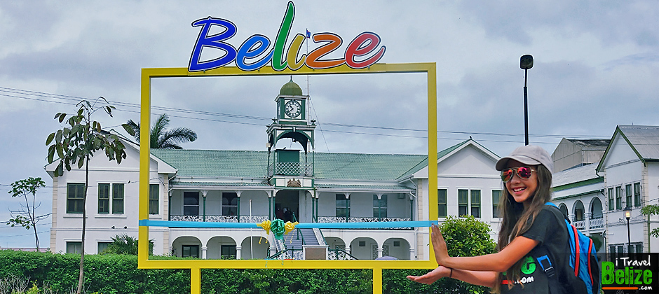 Belize Sign Battlefield Park