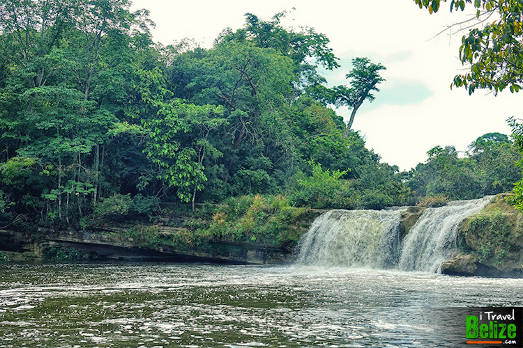 Rio Blanco Falls in Toledo, Belize