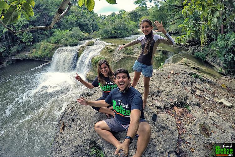 Rio Blanco Falls in Toledo, Belize