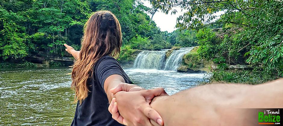 Rio Blanco Falls, Toledo District